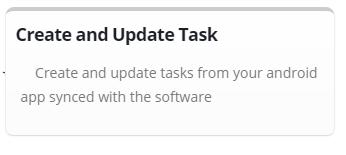 Create & Update Task